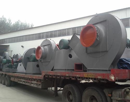陕西铝业生产线风机发货