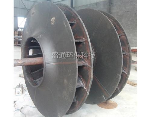 高压型衬胶叶轮